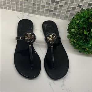 Try Burch NEW Mini Miller Flat Jelly Thong Sandals